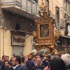 Torre Annunziata - Festa del 22 ottobre: la Madonna in processione, nonostante l'allerta meteo