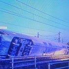 Deraglia  Frecciarossa sulla linea  Milano-Bologna, un morto